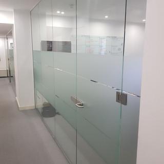 Glass doors London