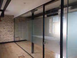 glass walls office