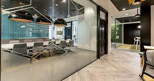 double glazed office