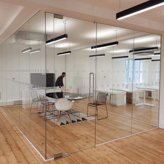 Glass office London