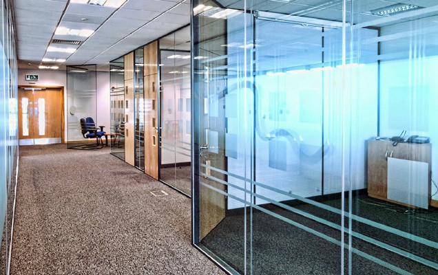 london glass office