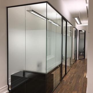 glass wall company in london