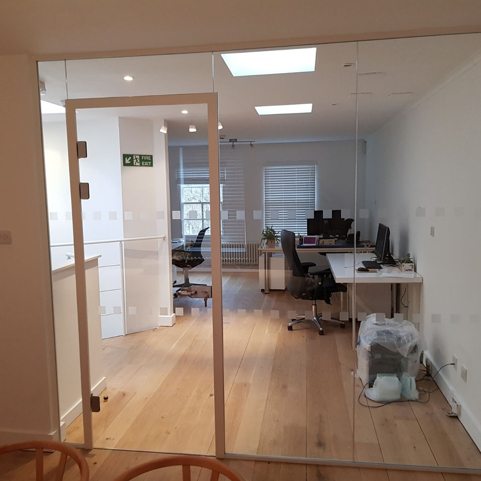 Glass office company London