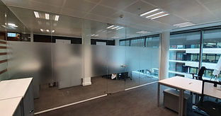 Glass partition company