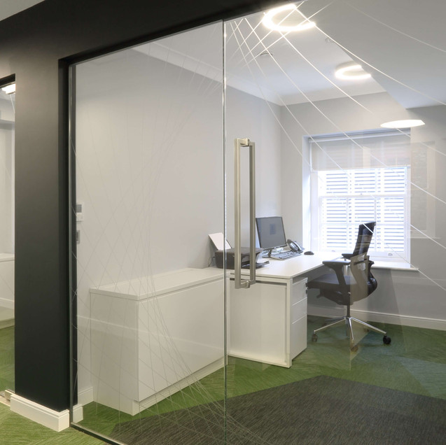london glass partitions