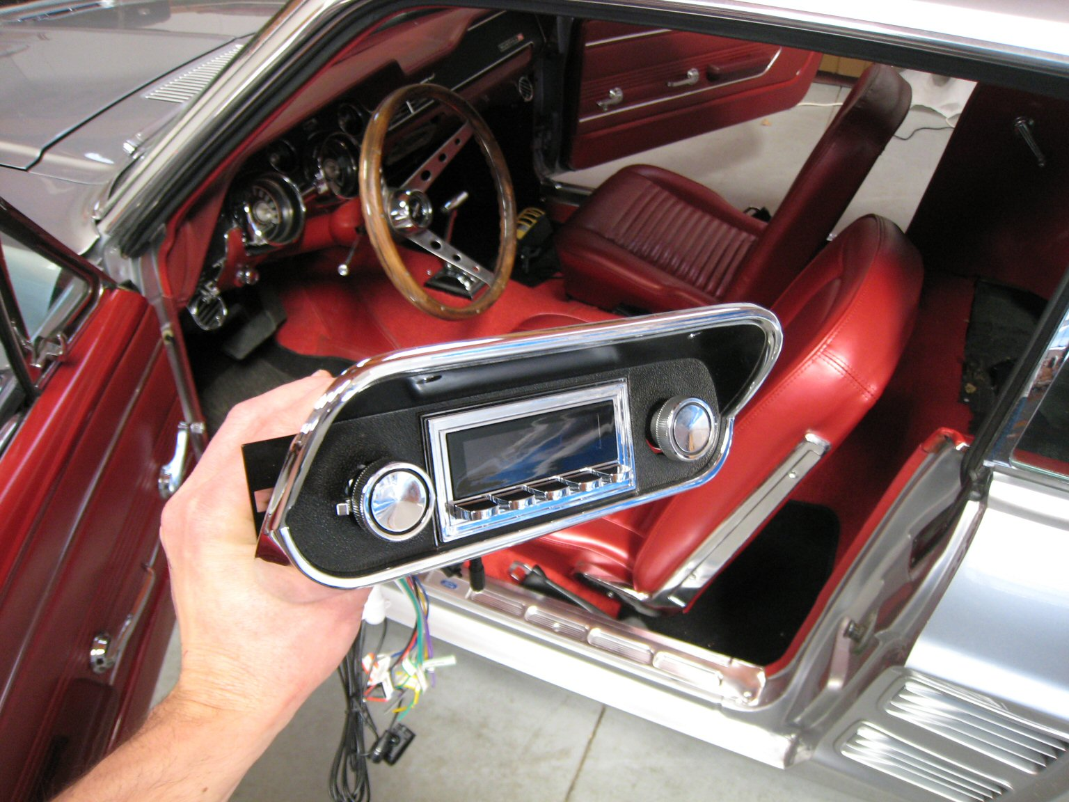 1967 Ford Mustang with RetoSound Radio Install by Phoenix Audio NZ (4).jpg