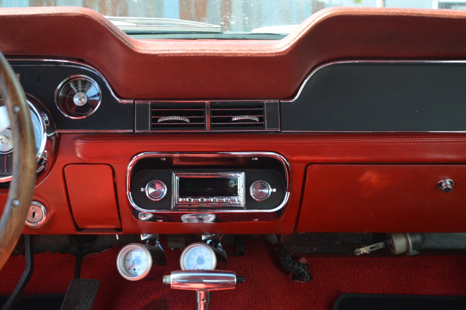 1967 Ford Mustang with RetoSound Radio Install by Phoenix Audio NZ (3).jpg