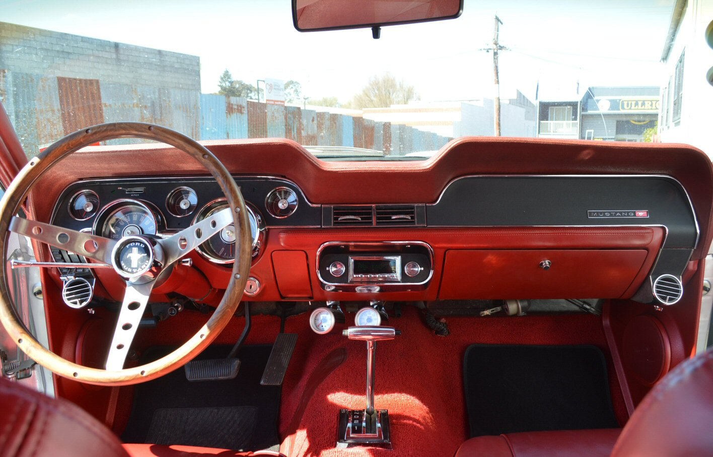 1967 Ford Mustang with RetoSound Radio Install by Phoenix Audio NZ (2).jpg