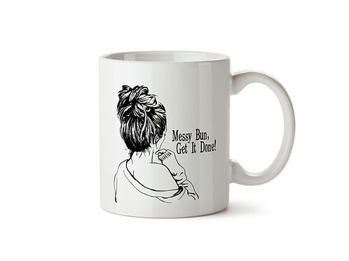 """Messy Bun"" Mug"