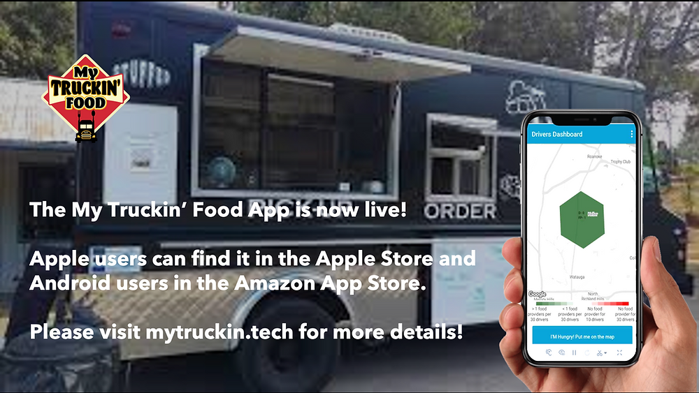 My Truckin' Food Launches