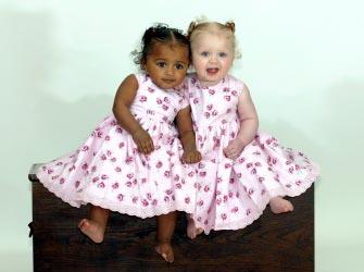 Twins Audra & Ella