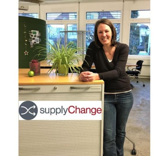 Sandra Dysli von supplyChange GmbH