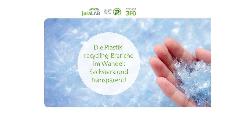 Verwert-Bar Nr. 3 > Die Plastikrecycling-Branche im Wandel: Sackstark und transparent!