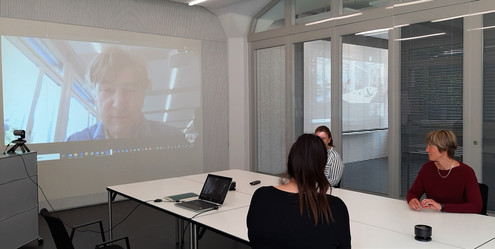 Video- und Audiokonferenzmaterial