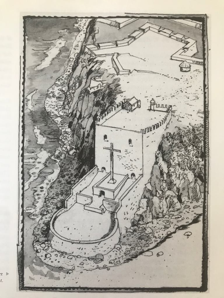 Tomado del libro: Los fuertes del Viejo San Juan, del Servicio Nacional de Parques