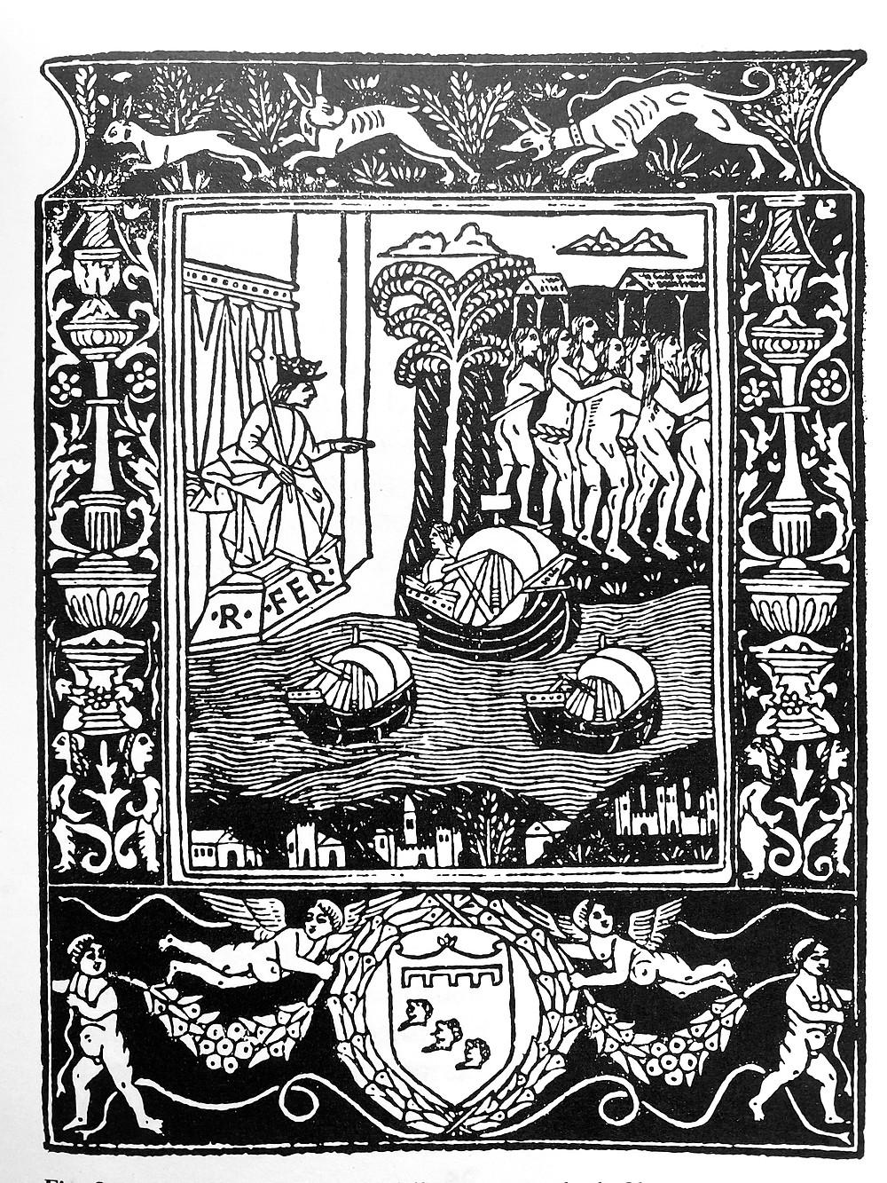 Carta de Colón, Roma, 1493