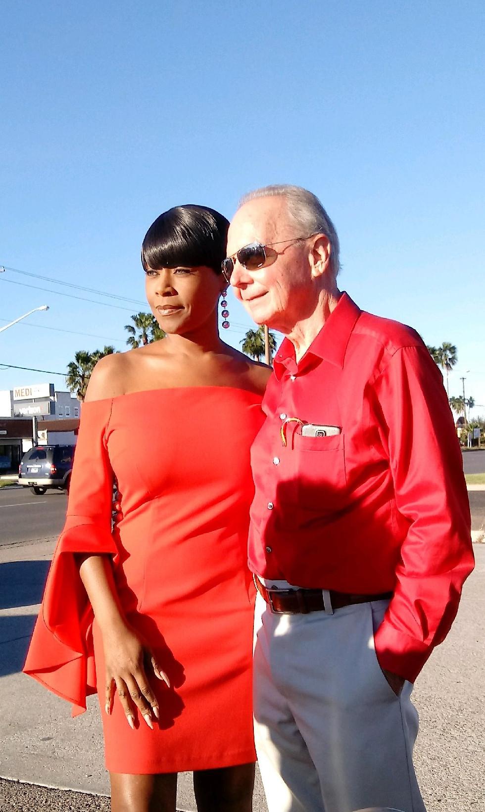 Dr. Joines, DVM with Katrina Silverstein