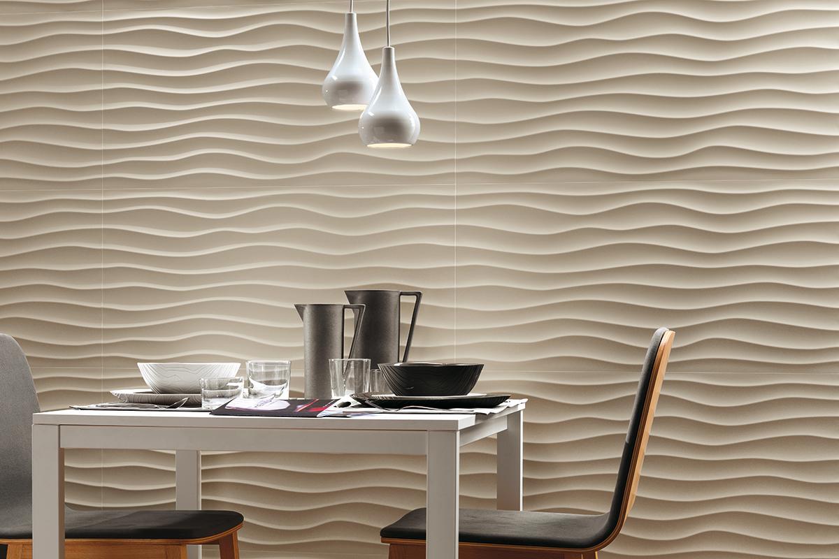 3d wall panels italia pannelli 3d in ceramica for Vento di sabbia silver