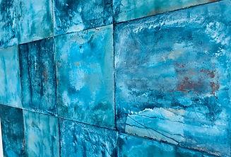 patina metal panel