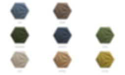 colour list cork panels