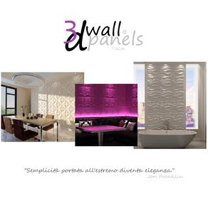 3d Wall Panels Italia!!! Exclusive Wall Design!!