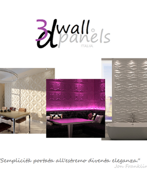 3d Wall Panels Italia!!! Exclusive Wall Design!!