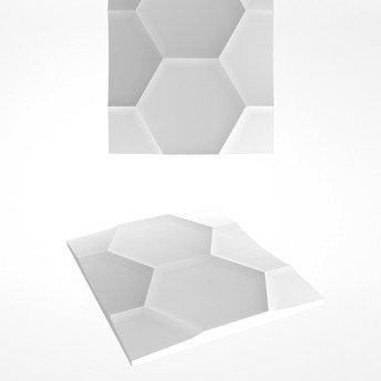 HEXAGON 720X620MM