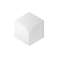 CUBIC 330X286X8-24MM(0.07㎡)