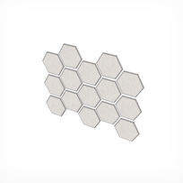 HEXAGON L DIM.590X511MM X12/24MM