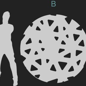 TRIANGLES PATTERN A/B/C