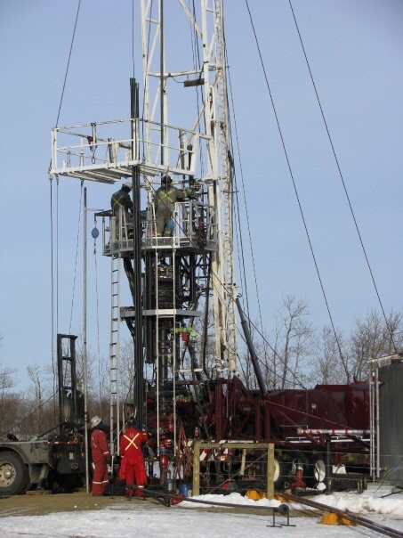 Oil and Gas Service Rig
