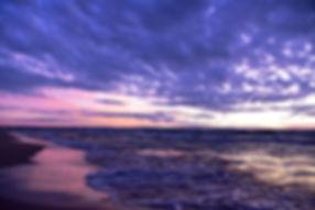 September Tides | Sunset Photography | Wasaga Beach, Ontario, Canada