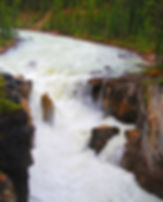 Sunwapta Falls | Water Photograhy | Banff National Park, Alberta, Canada
