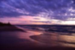 September Dusk | Sunset Photography | Wasaga Beach, Ontario, Canada