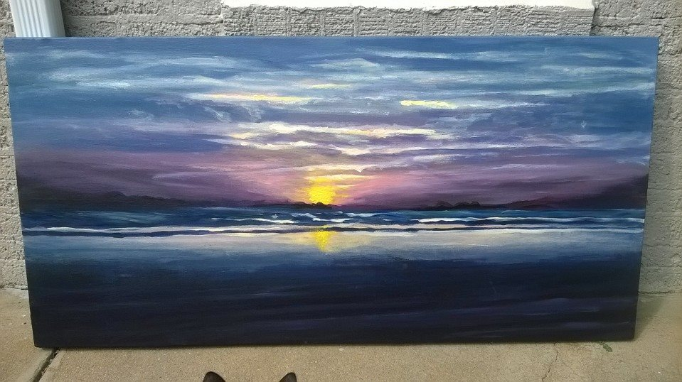 Sunrise over the Atlantic 2014