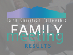 2021 Family Meeting Results
