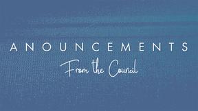 August Council Communication