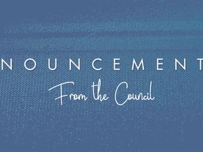 April Council Communication