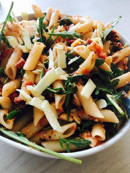 Zuiderse pastasalade