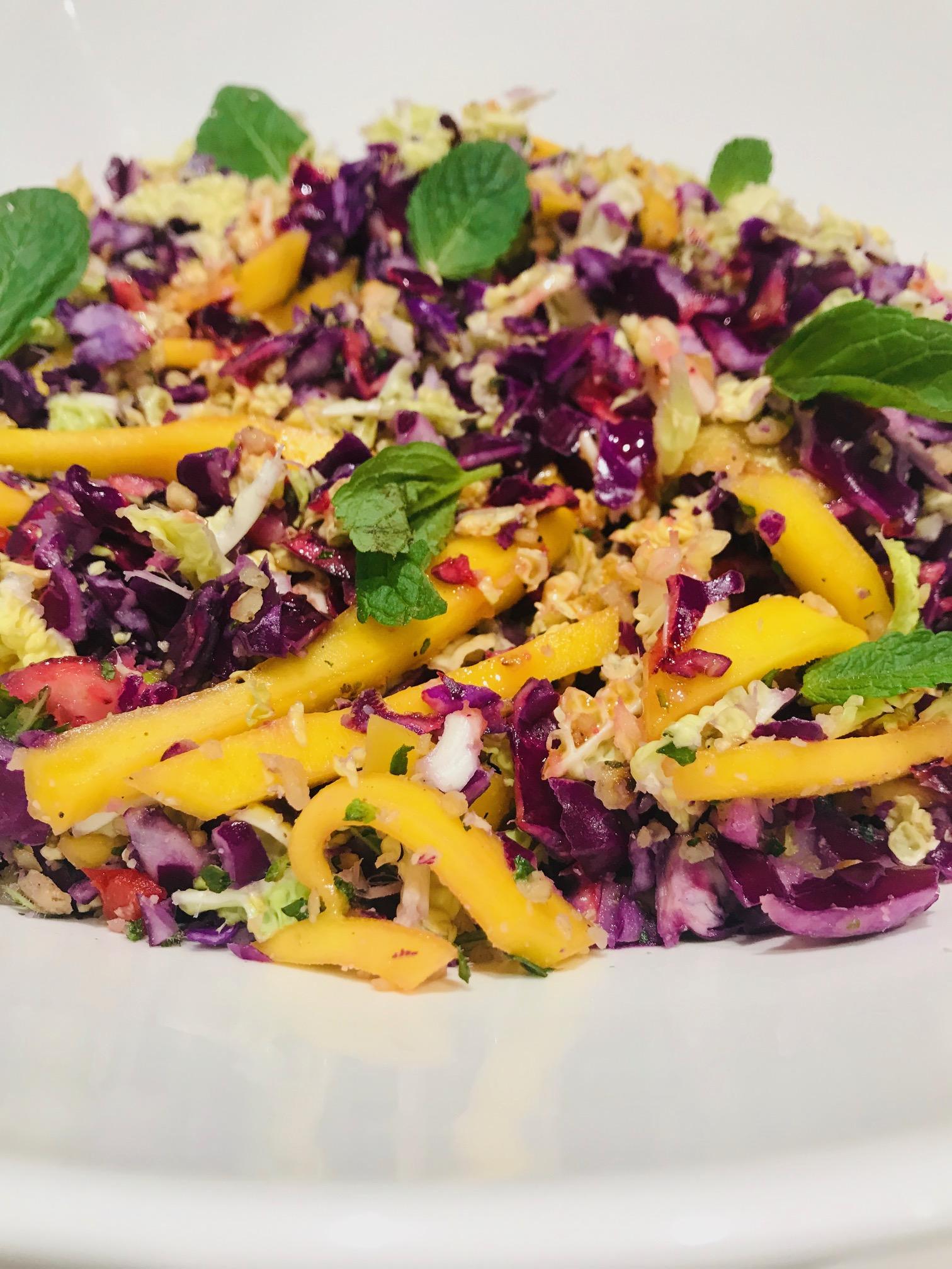 salade vol kleur
