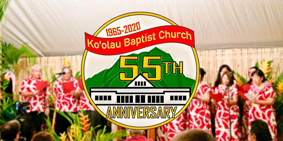 KBC 55th Anniversary Luau