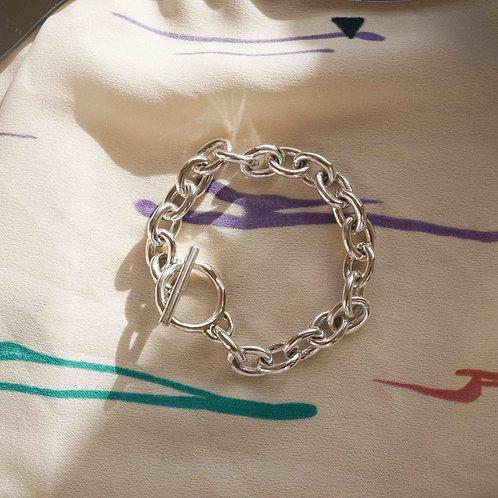 Silver925 Azuki Chain Bracelet