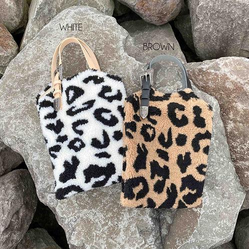 ●4月限定SALE● Leopard Boa Bag