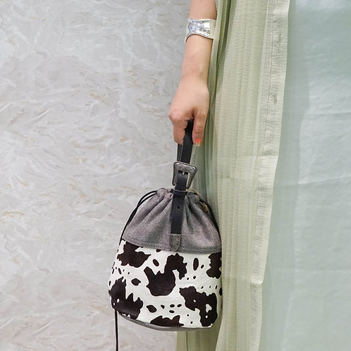 Cow Purse Bag