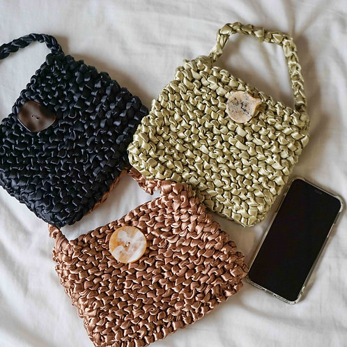 Satin Knit Bag