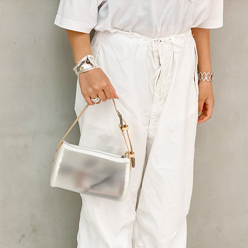 Western Drum Bag -White-