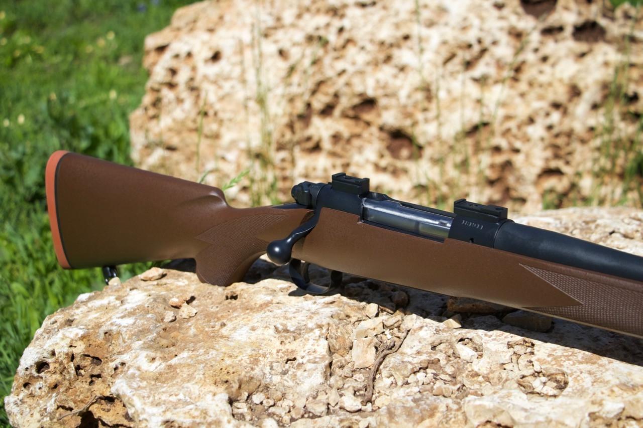 Winchester 70 McMillan Cerakote Midnight