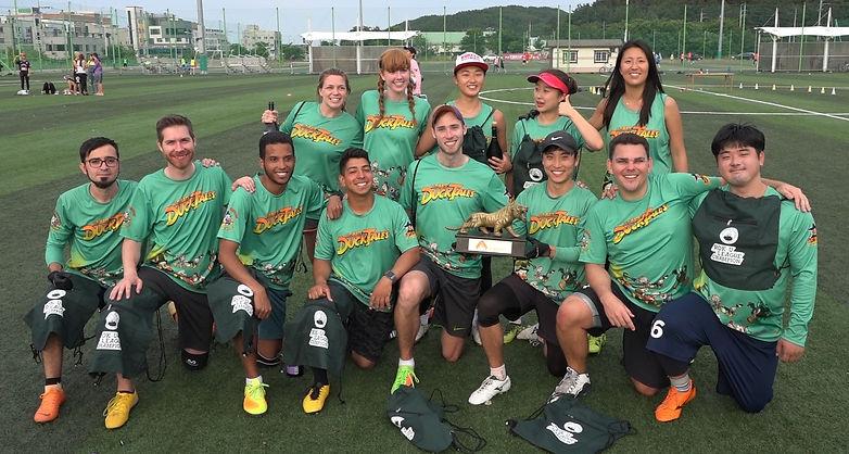 Spring 2019 - Joongbu Ducks (champions).