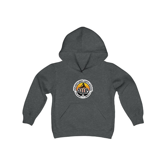 Adventures With Boog - Sunrise - Youth Heavy Blend Hooded Sweatshirt