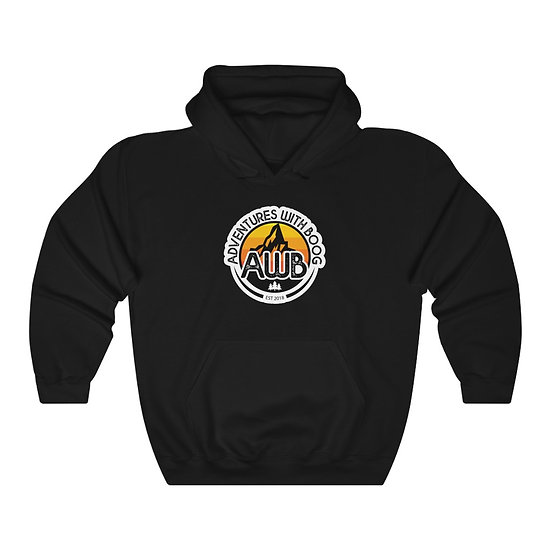 Adventures With Boog - Sunrise - Unisex Heavy Blend™ Hooded Sweatshirt